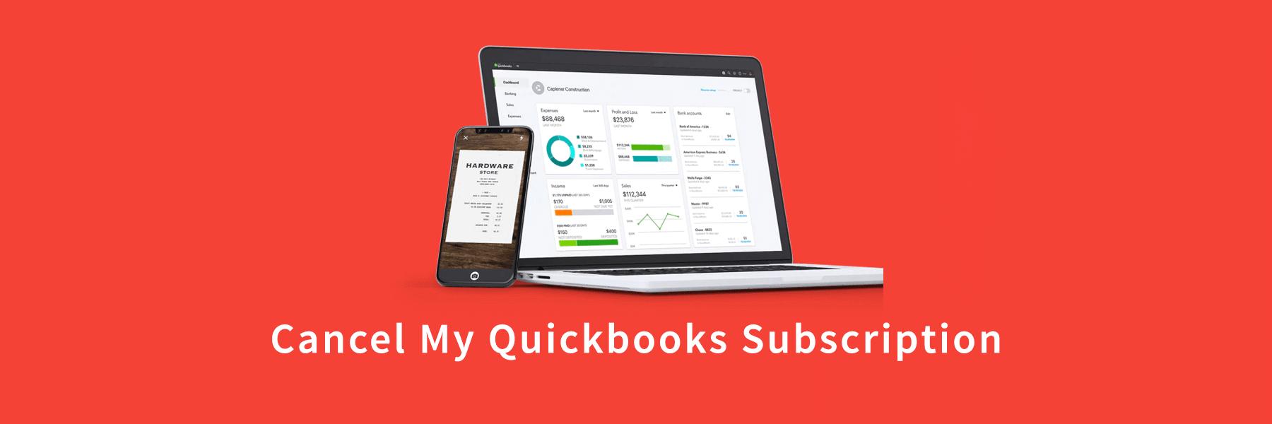 Cancel My Quickbooks Subscription