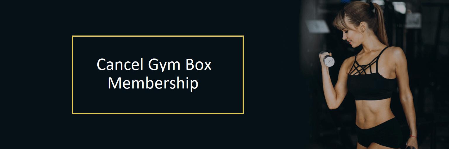 Cancel-GymBox-Membership