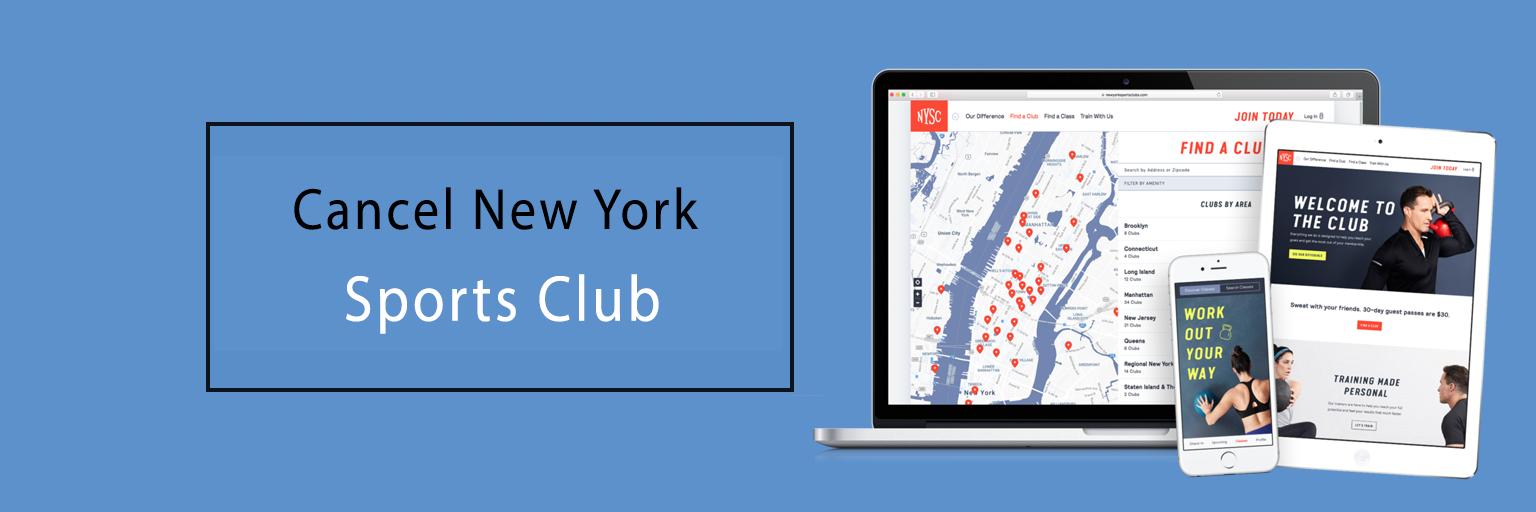 Cancel New York Sports Club